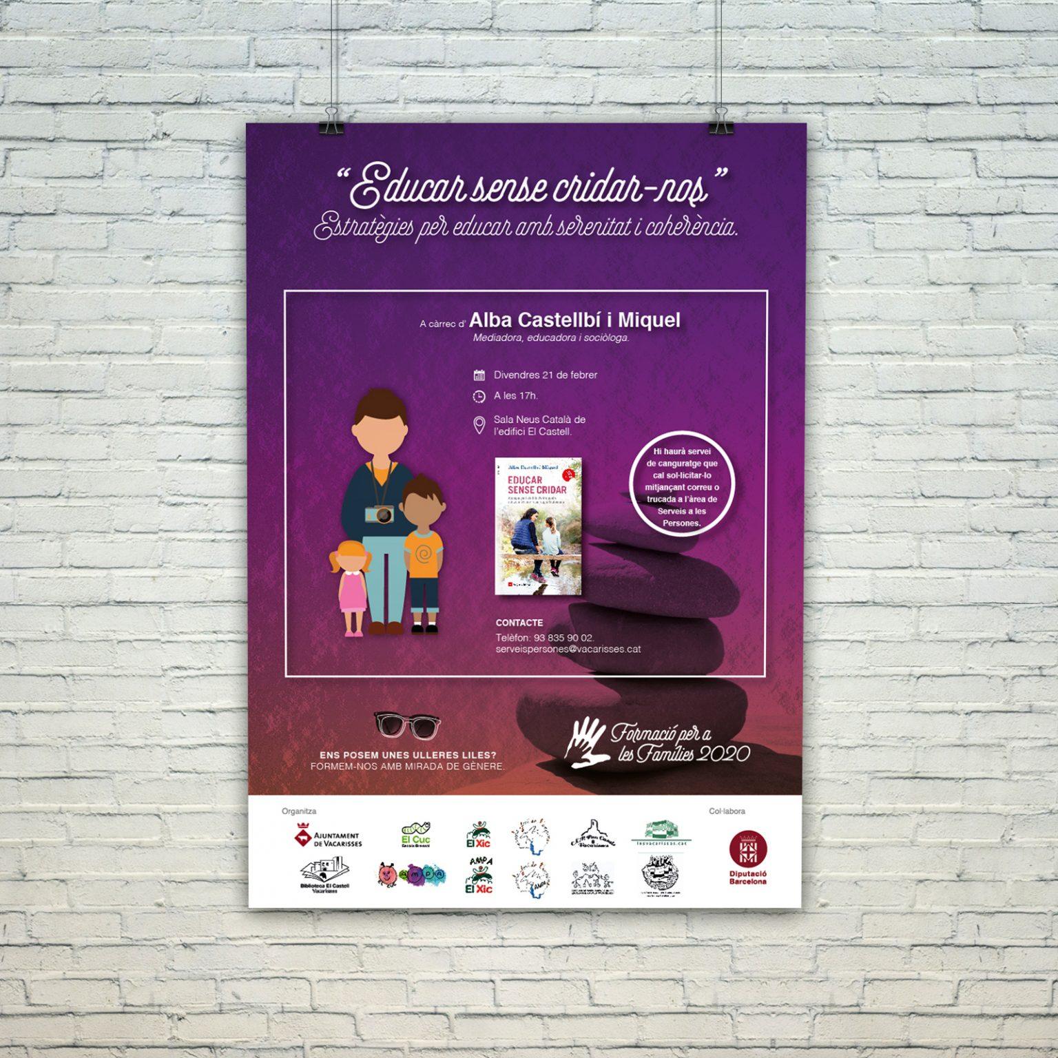 AYUNTAMIENTO DE VACARISSES   Formació per a les famílies 2020   EDUCAR