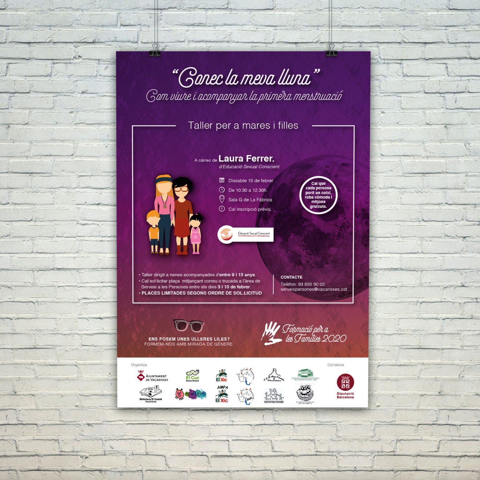 AYUNTAMIENTO DE VACARISSES   Formació per a les famílies 2020   LLUNA