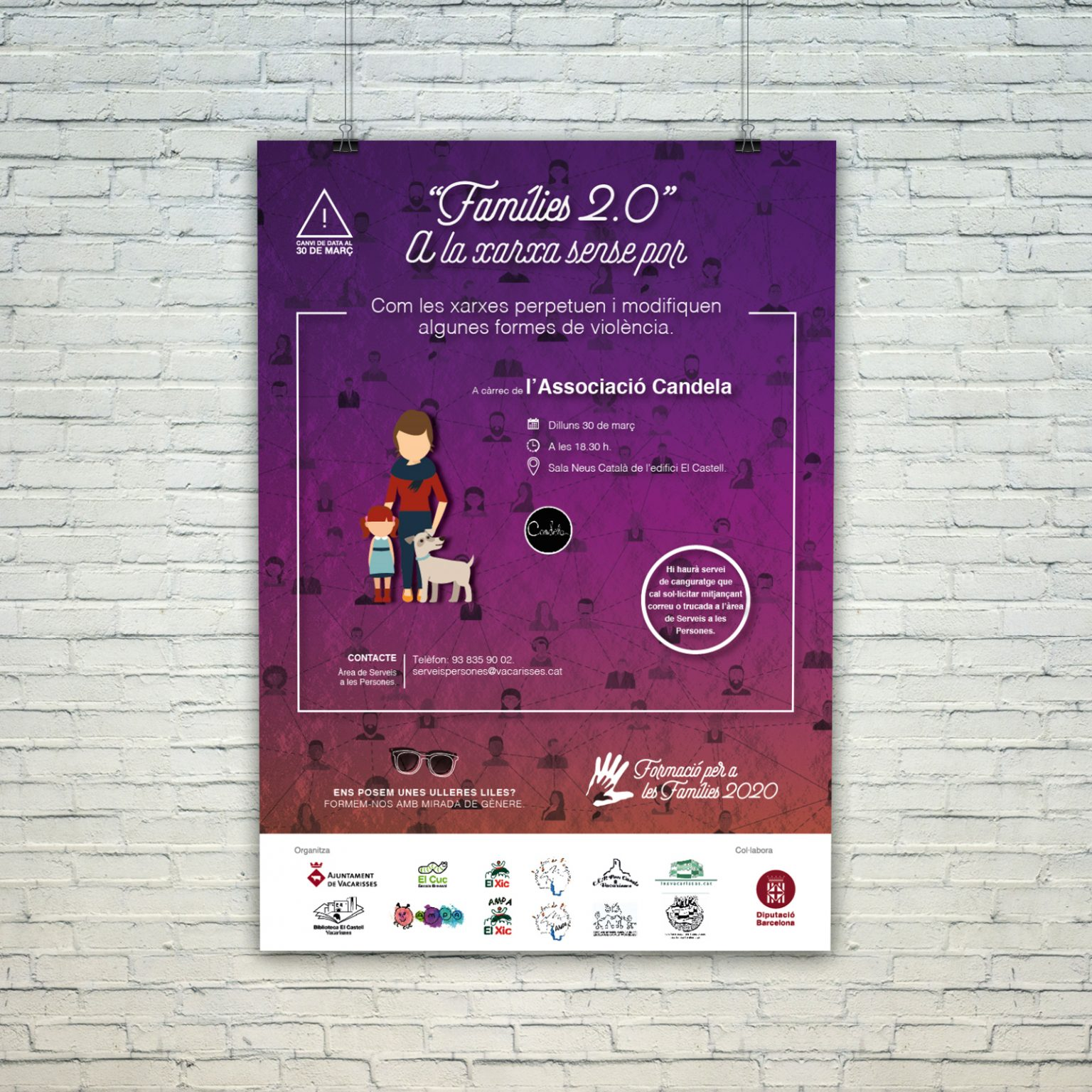 AYUNTAMIENTO DE VACARISSES   Formació per a les famílies 2020   XARXA